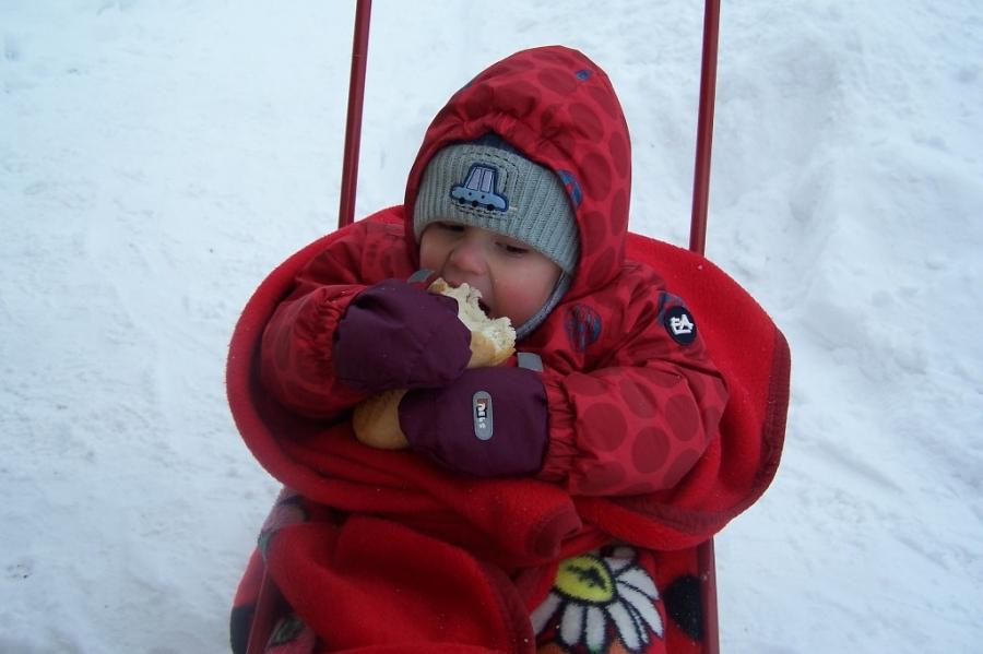 Вкусно на морозце  )))