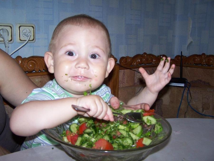 Витаминный  салатик   )))