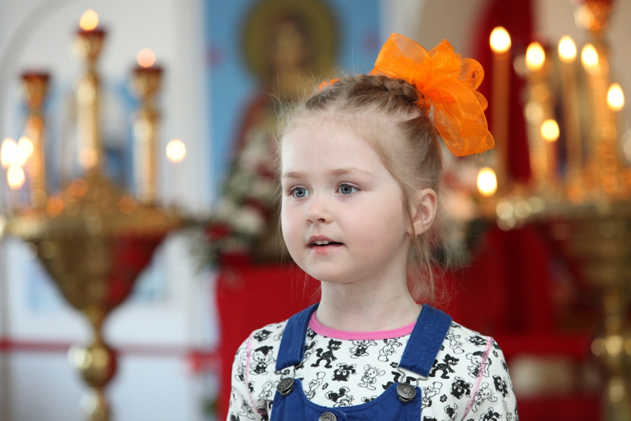 Радость в храме