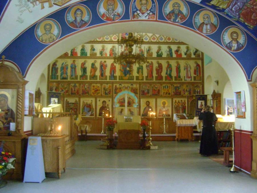 Свято-Никольский мужской монастырь в Большекулачье