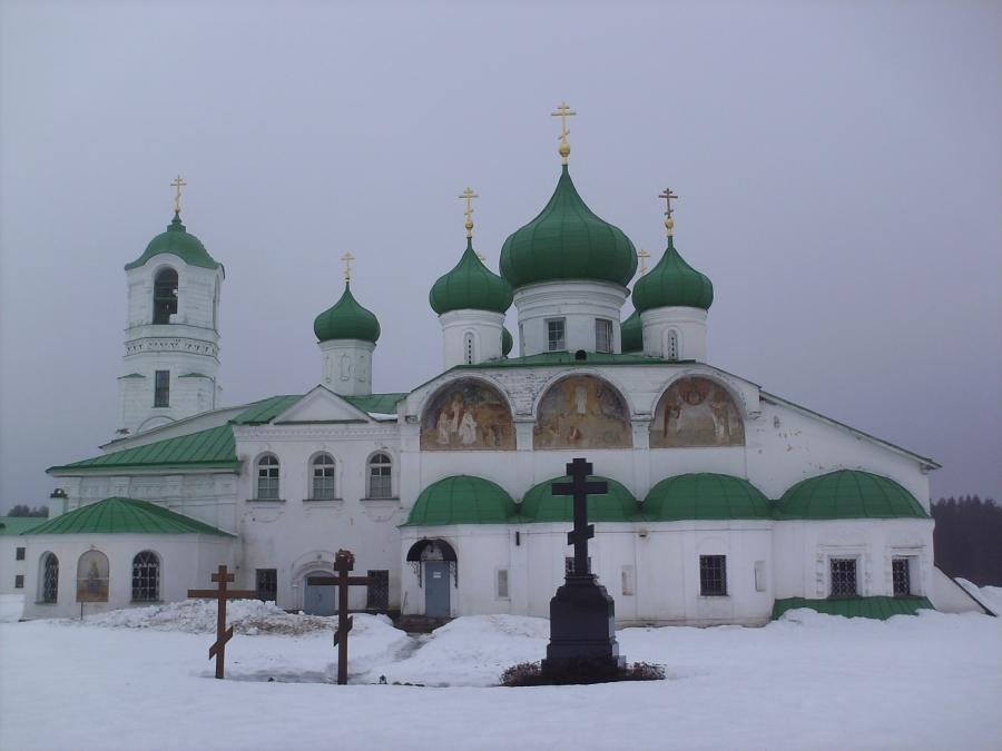 У прп.Александра Свирского
