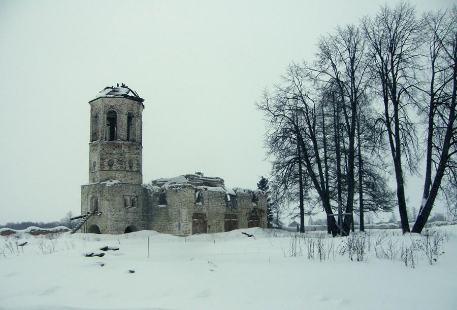 Александро-Ошевенский монастырь. Успенский собор