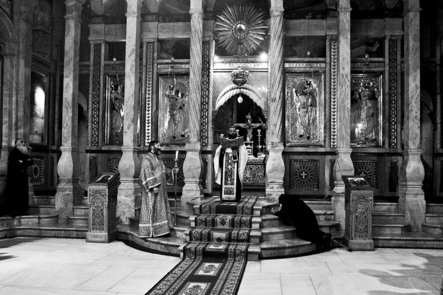 Иерусалим.Храм Гроба Господня..