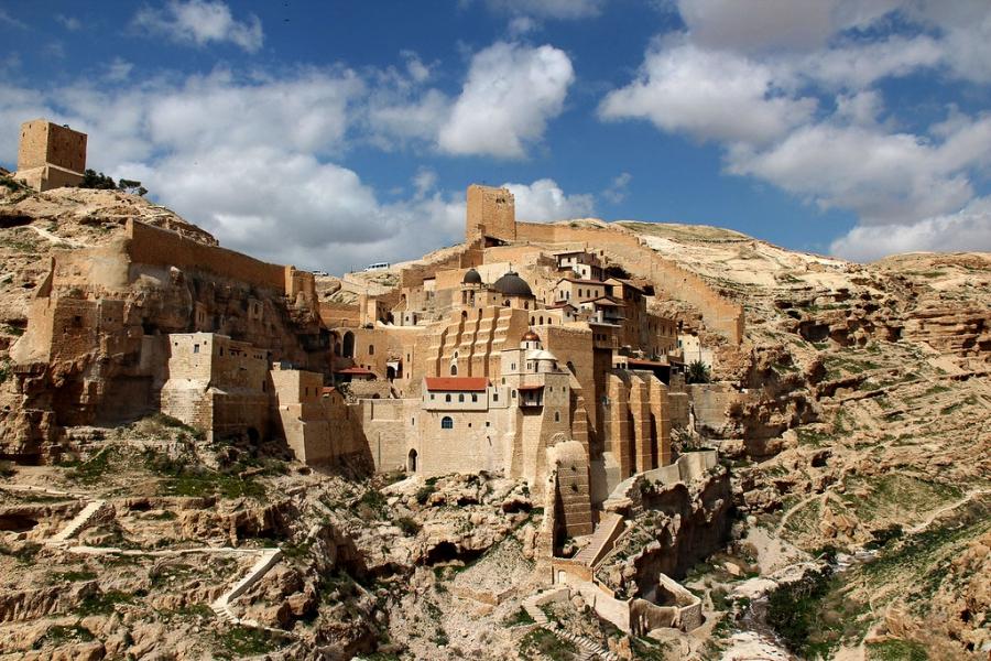 Монастырь преподобного Саввы Освященного