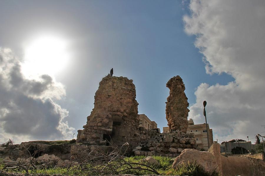 Развалины дома Симона прокаженного