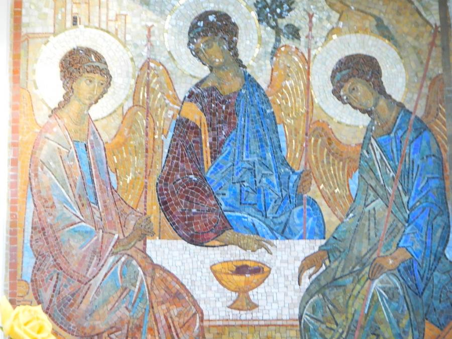 Святая Троица, слава Тебе!