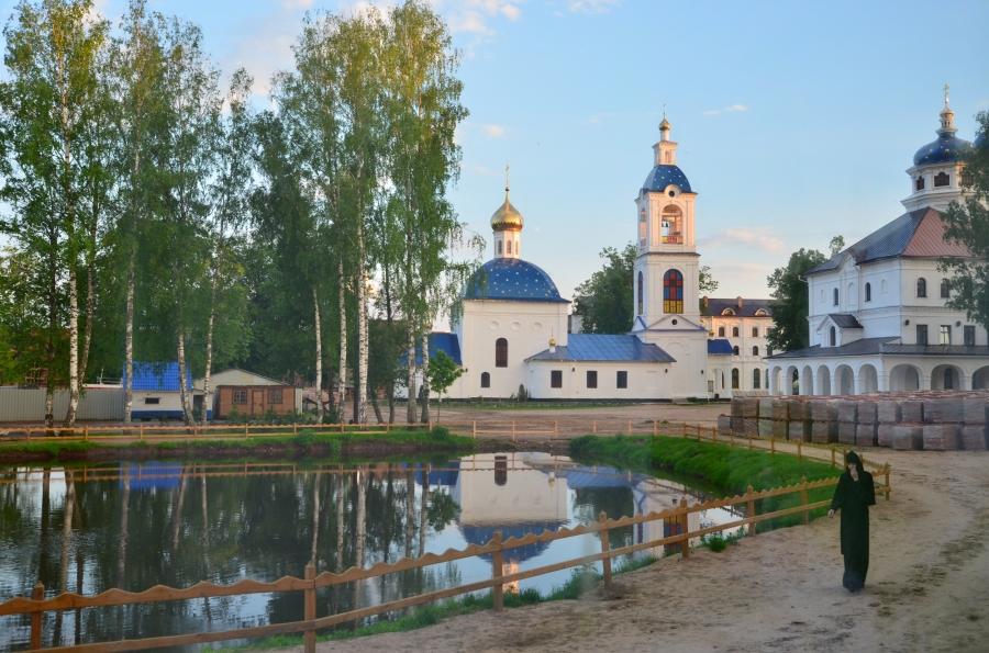 В Николо-Сольбинском монастыре
