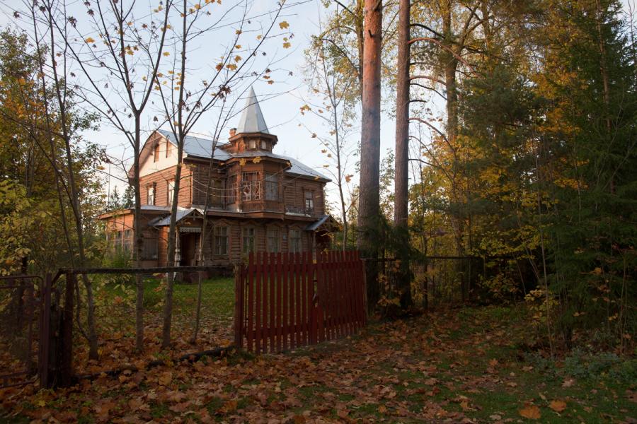 Дом Вырицкого подвижника