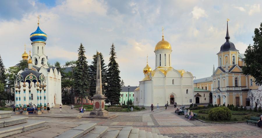 В Лавре преподобного Сергия (5)