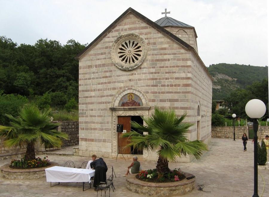 Успенский храм. Монастырь Подмайне.