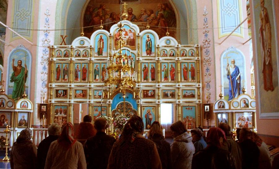 Воскресенье в Успенском.