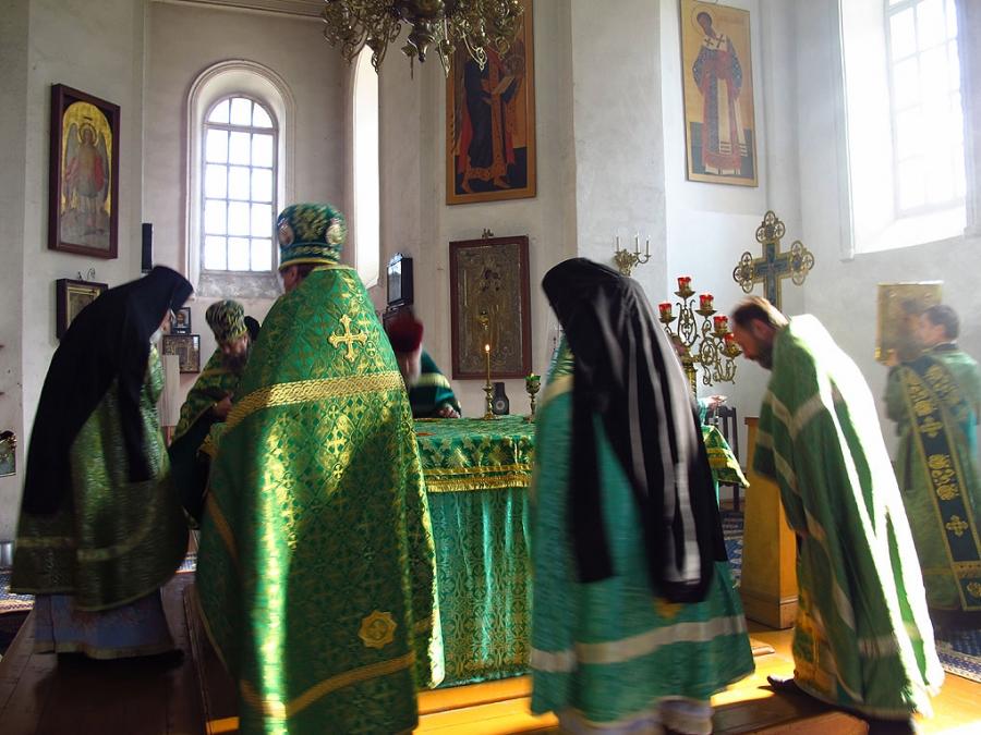 Престольный праздник в Авраамиево-Городецком монастыре, Костромская епархия
