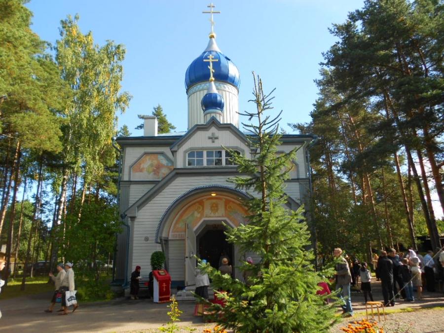 Праздник в церкви Крестителя Господня Иоанна!