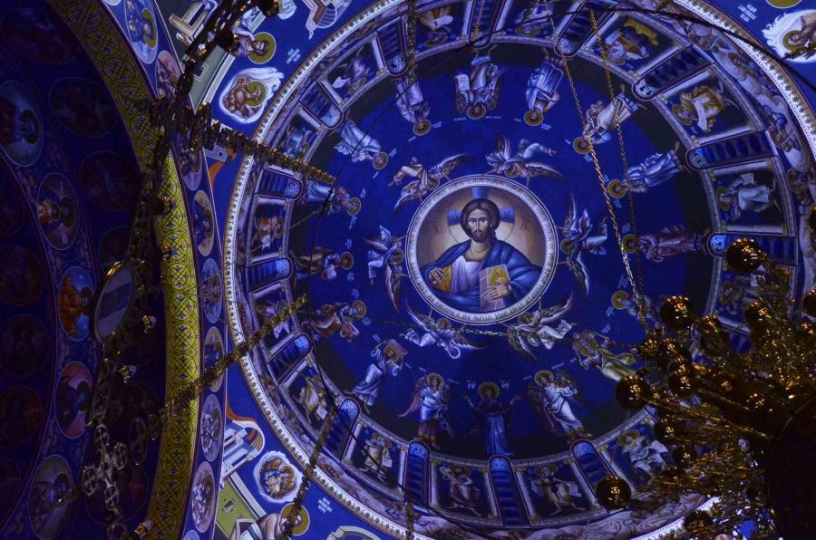 фреска в храме Святой Троицы (Теслич)