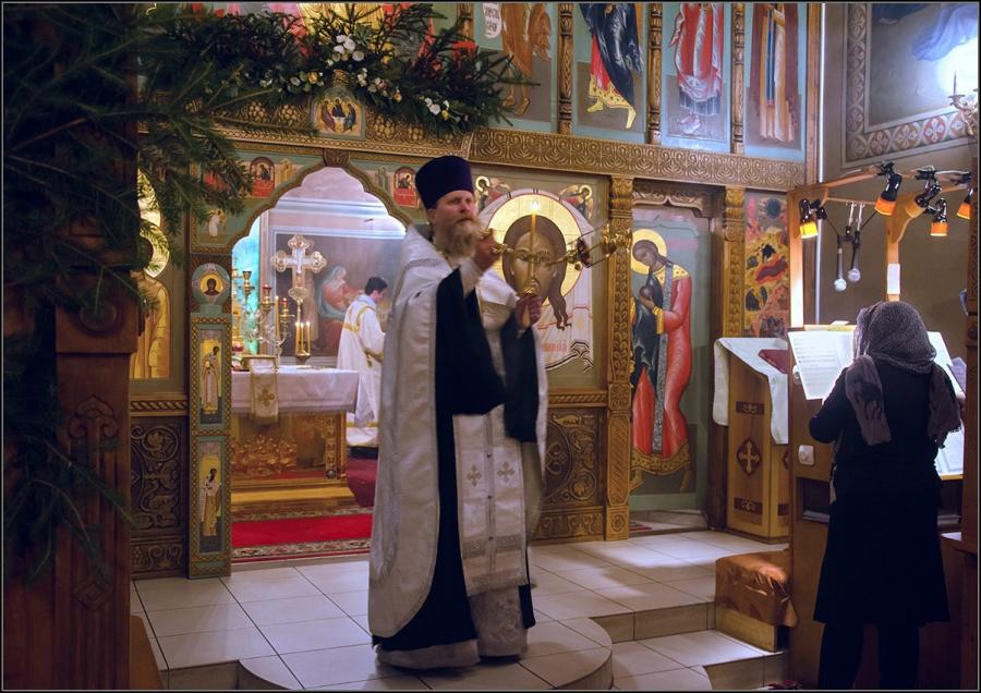 На Рождественской службе 3