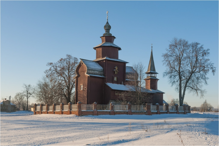 Церковь Иоанна Богослова на Ишне