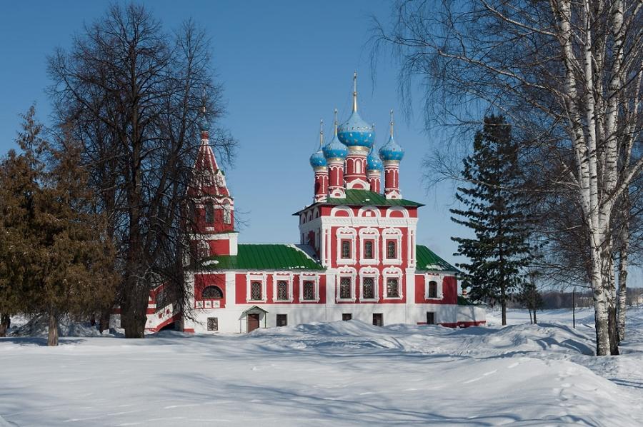 Церковь царевича Димитрия «на крови»