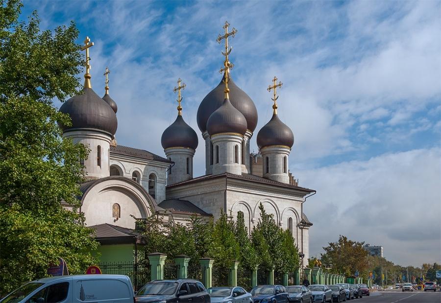 Храмовый комплекс преподобного Сергия Радонежского на Рязанке