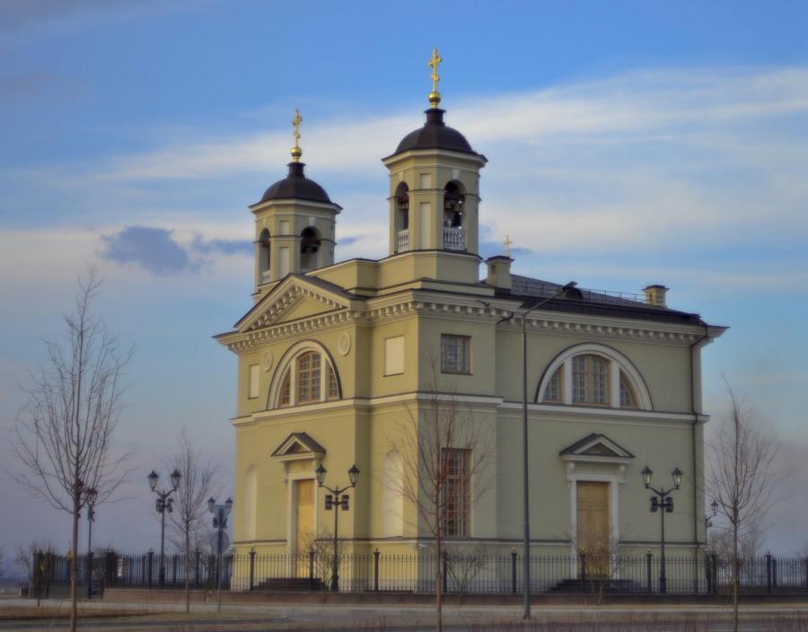 Церковь Смоленской иконы Пресвятой Богородице Матерь Божий в Пулково