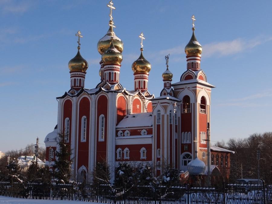 Храм в честь Новомучеников и исповедников Российских