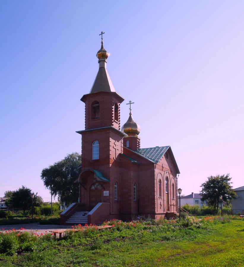 Церковь преподобного Серафима Саровского