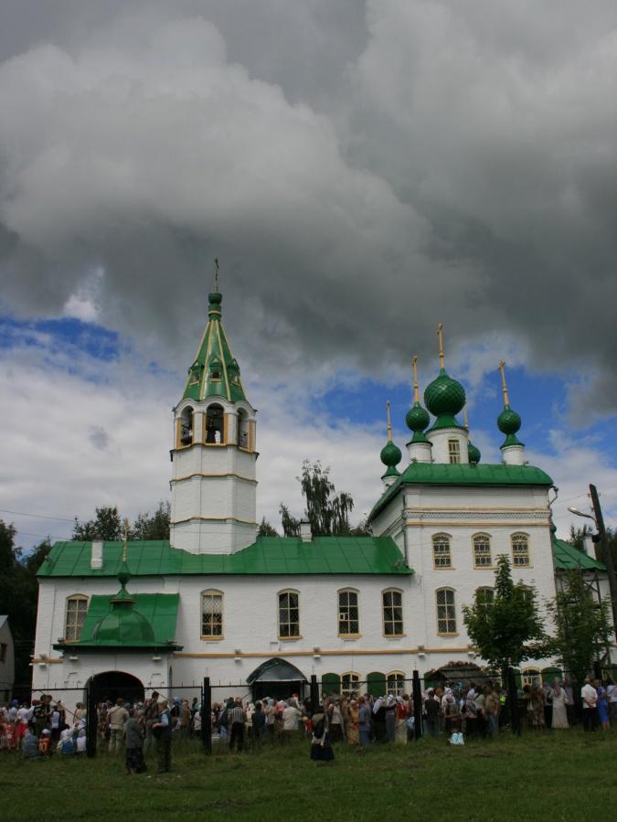 Леонтьевский храм.