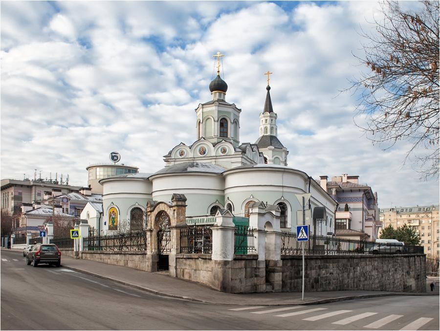 Храм Воздвижения Креста Господня на Чистом Вражке (1701-1708 г.г.)
