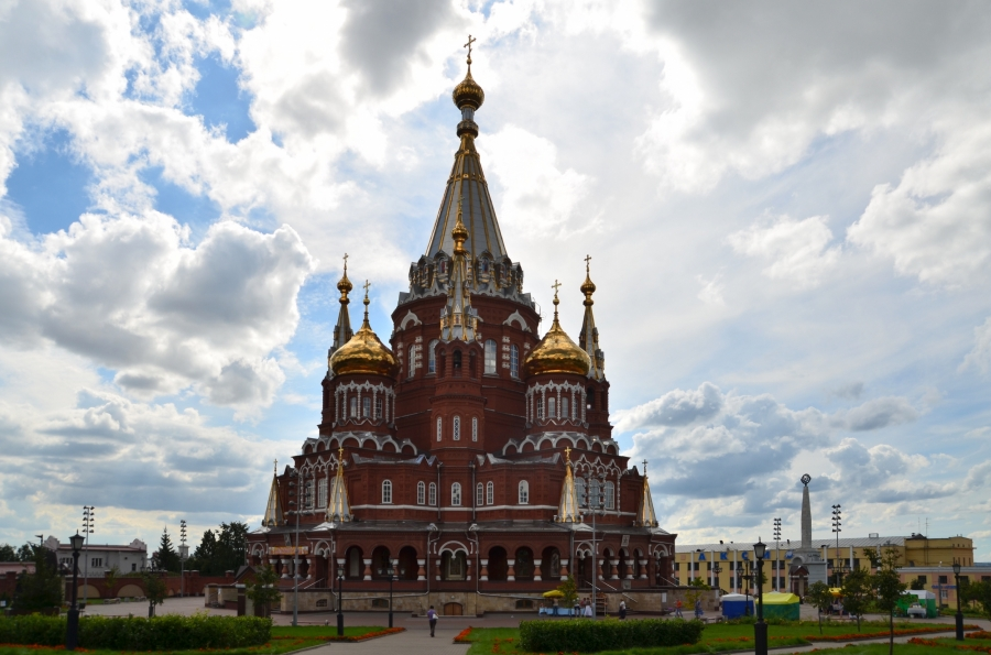 Ижевск. Храм Архангела Михаила.