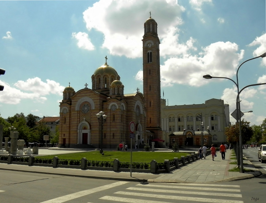 Храм Христа Спасителя в Баня Луке