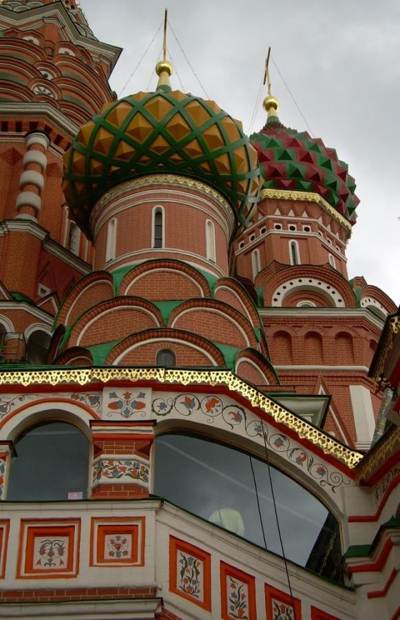 Храм Василия Блаженного. Фрагмент