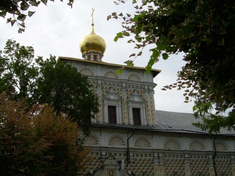 Трапезный храм Троице-Сергиевой лавры