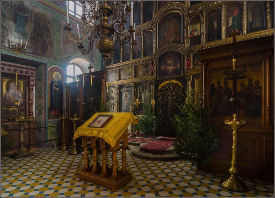 Храм Успения Пресвятой Богородицы с. Шарапово