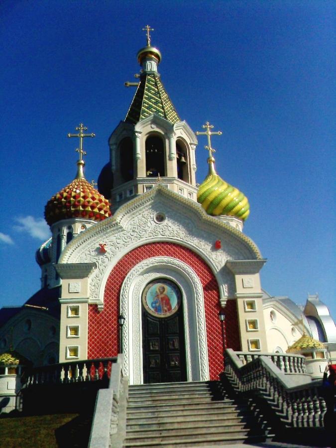 Храм в честь Св. Князя Игоря Черниговского в Переделкино