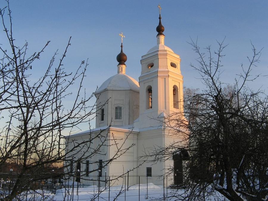 Церковь Спаса Нерукотворного Образа в Каблуково