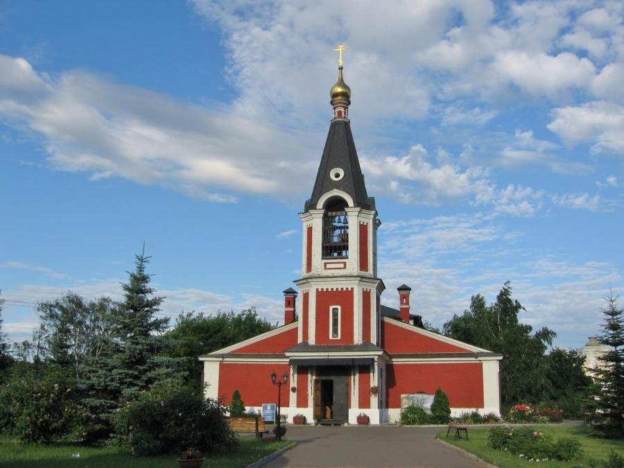 Храм святителя Николая в Сабурово