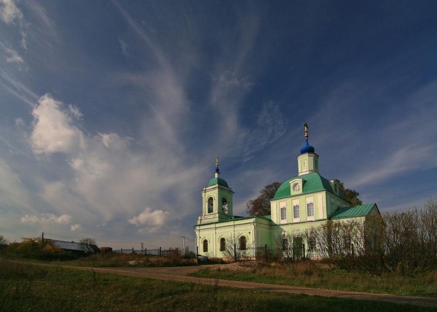 Село Рязанцы Троицкая церковь
