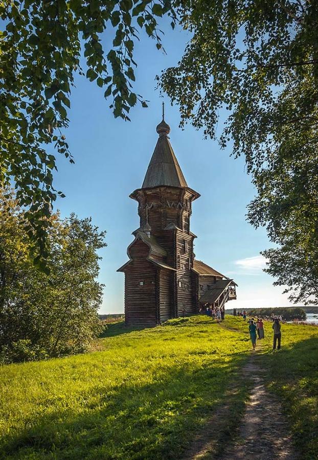 Церковь на Онеге