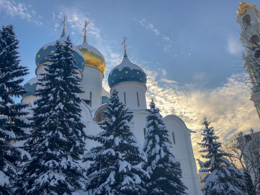 Троице-Сергиева Лавра. Успенский собор