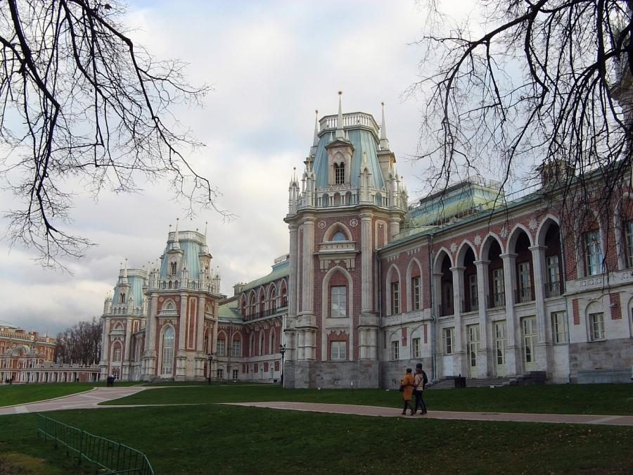 Царицыно. Большой дворец.