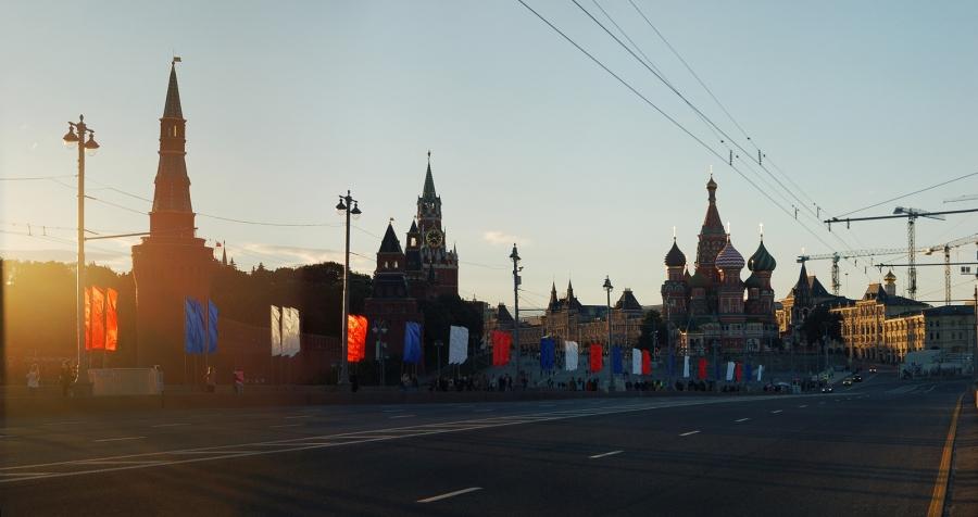 Москва парадная