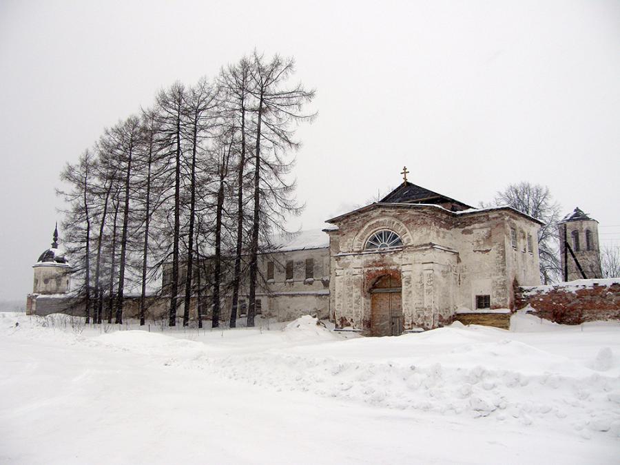 Монастырь на севере