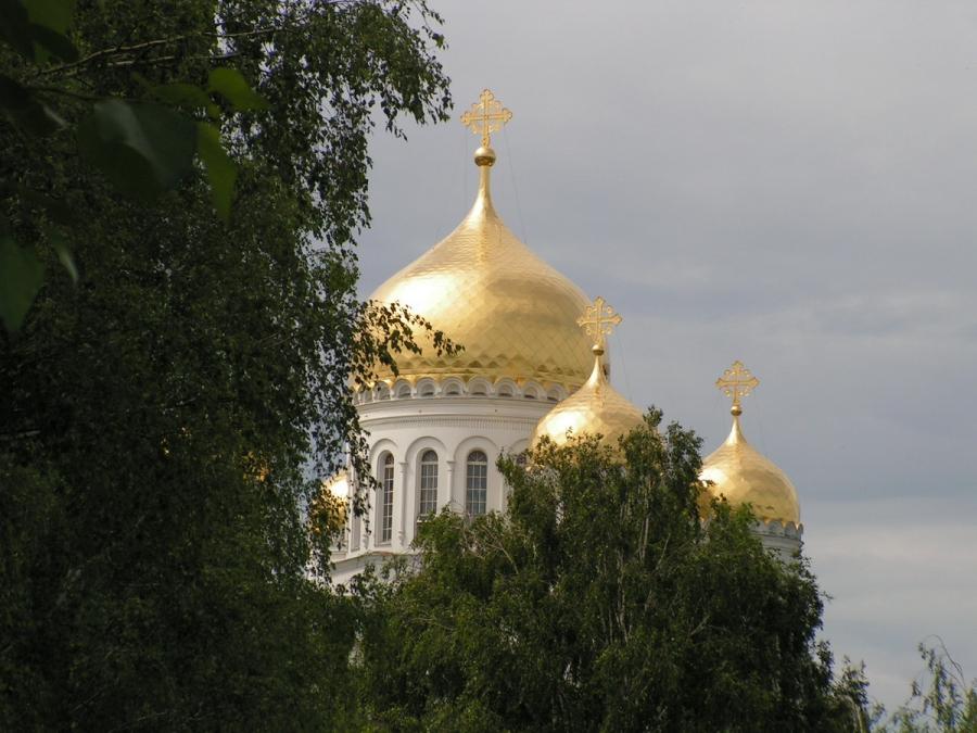 Дивеевские купола