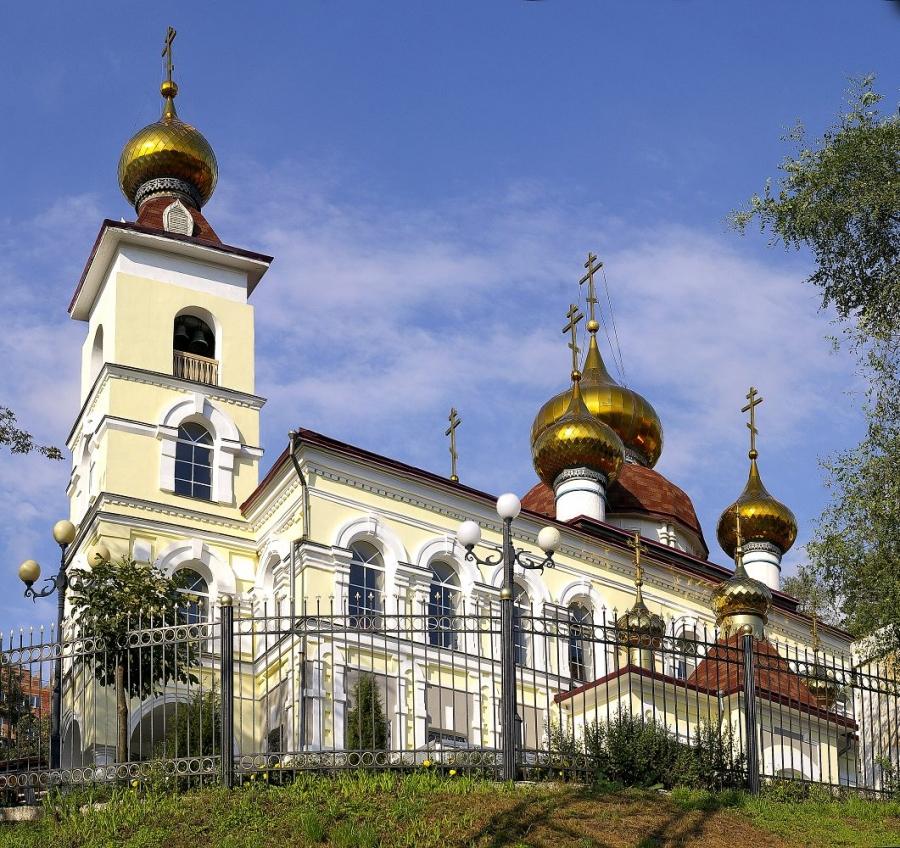 Храм в честь святого Николая Чудотворца
