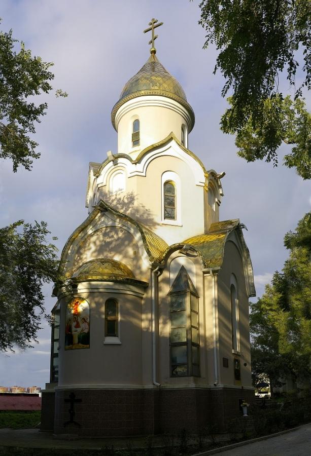 Храм в честь святого  Андрея Первозванного