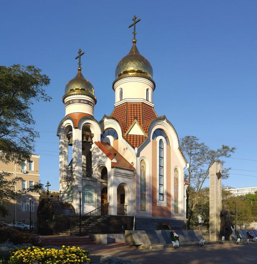 Храм в честь Игоря Черниговского