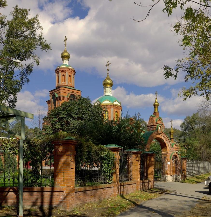 Храм в честь святых Кирилла и Мефодия