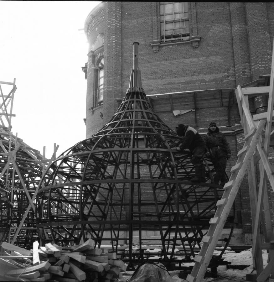 купола храма св.Екатерины.