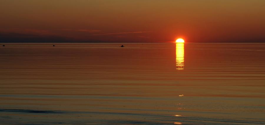 Беломорский закат
