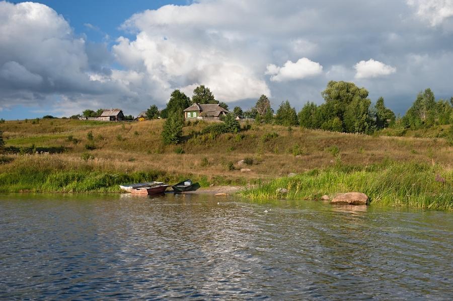 на речке Сить