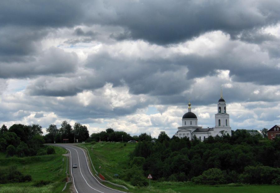Дорога в Радонеж.